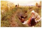 Anders Zorn (1860-1920)  -  Vart Dagliga Brod (Our Daily Bread) - Postkaart -  A25134-1