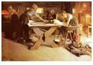 Anders Zorn (1860-1920)  -  Brodbaket - Postkaart -  A25143-1