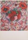Leo Gestel (1881-1941)  -  Pioenrozen, 1912 - Postkaart -  A2576-1