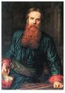 William Holman Hunt (1827-1910 -  Self Portrait, 1867 - Postkaart -  A25794-1
