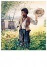 Winslow Homer (1836-1910)  -  The Busy Bee, 1875 - Postkaart -  A25883-1