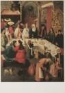 Jheronimus Bosch (1450-1516)  -  De bruiloft te Kana - Postkaart -  A2646-1