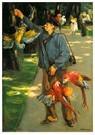 Max Liebermann (1847-1935)  -  The Parrot Man, 1902 - Postkaart -  A26498-1