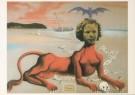Salvador Dali (1904-1989)  -  Shirley Temple, het jongste film-idool van haar ti - Postkaart -  A2661-1