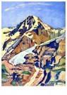 Ferdinand Hodler (1853-1918)  -  The Mönch at Noon, 1911 - Postkaart -  A26909-1