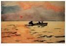 Winslow Homer (1836-1910)  -  Rowing Home, 1890 - Postkaart -  A28013-1