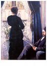 Gustave Caillebotte (1848-1894 -  Interieur, 1880 - Postkaart -  A28366-1
