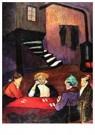 Marianne von Werefkin (1860-19 -  Card Players, 1913 - Postkaart -  A28403-1