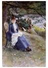 Anders Zorn (1860-1920)  -  In Scotland, 1887 - Postkaart -  A28927-1