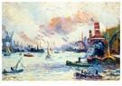 Maximilien Luce (1858-1941)  -  Rotterdam, 1908 - Postkaart -  A30432-1