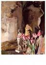 Edouard Vuillard (1868-1940)  -  Tulips and Statuettes, 1919 - Postkaart -  A30756-1