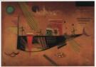 Vassily Kandinsky (1866-1944)  -  Grillig, 1930 - Postkaart -  A3081-1