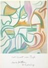 Willem de Kooning (1904-1997)  -  Tuin in Delft - Postkaart -  A3120-1
