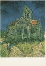Vincent van Gogh (1853-1890)  -  The Church at Auvers-sur-Oise, 1890 - Postkaart -  A3180-1