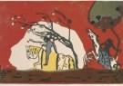 Vassily Kandinsky (1866-1944)  -  Les cavaliers - Postkaart -  A3193-1
