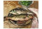 Gustave Loiseau (1865-1935)  -  Fish, 1929 - Postkaart -  A33839-1