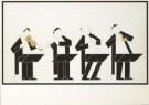 Hendrik Valk (1897-1986)  -  Het 2e Brandenburgse Concert van J.S. Bach, 1966 - Postkaart -  A3448-1
