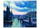 Maximilien Luce (1858-1941)  -  The Port of Rotterdam, Evening, 1908 - Postkaart -  A34942-1