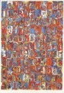Jasper Johns (1930)  -  Numbers in color - Postkaart -  A3568-1
