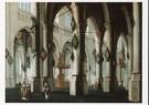 Daniel de Blieck (1600-1673)  -  D.de Blieck/Kerkinterieur/BvB - Postkaart -  A3623-1