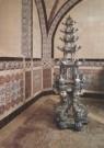 -  Grote Bloemenpagode van Delfts aardewerk in melkke - Postkaart -  A3634-1