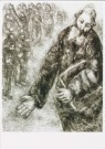 Marc Chagall (1887-1985)  -  Joshua reads the law to the people, 1931-1939 - Postkaart -  A3730-1