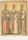 Anoniem,  -  The selected Saints: St. James, St. Nicholas, St. - Postkaart -  A3850-1