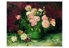 Vincent van Gogh (1853-1890)  -  Rozen+pioenrozen - Postkaart -  A3941-1