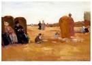 Floris Arntzenius (1864-1925)  -  Beach view, - Postkaart -  A39689-1