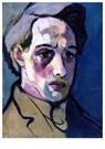 Theo van Doesburg (1883-1931)  -  Self-Portrait, 1911 - Postkaart -  A40262-1