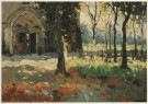 Raoul Hynckes (1893-1973)  -  Kerk te Nieuwpoort, 1912 - Postkaart -  A4052-1