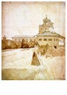Jean-A.-D.  Ingres (1780-1867) -  View of the Villa Medici, 1807 - Postkaart -  A40704-1