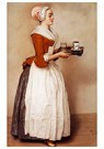Jean-Etienne Liotard 1702-1789 -  The Chocolate Girl, 1744-1745 - Postkaart -  A41521-1