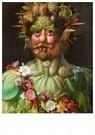 G. Arcimboldo 1526/30-1593  -  Vertumnus, 1591 - Postkaart -  A42184-1