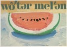 Paul Giovanopoulos (1939)  -  Watermelon # I - Postkaart -  A4224-1