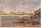 Paul Signac (1863-1935)  -  Havengezicht, Saint-briac - Postkaart -  A4273-1