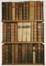 Anoniem  -  Boeken van Arts End, oude Bodleian bibliotheek - Postkaart -  A4286-1
