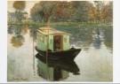 Claude Monet (1840-1926)  -  De Schildersboot - Postkaart -  A4415-1