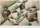 Juan Gris (1887-1927)  -  Stilleven met kom en pot, 1912 - Postkaart -  A4515-1
