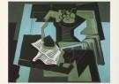 Juan Gris (1887-1927)  -  J.Gris/Stilleven met siphon/KM - Postkaart -  A4526-1