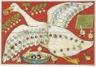 Daan Hoeksema (1879-1935)  -  Ganzenbord, ca. 1910 - Postkaart -  A4607-1