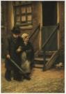 Gerard J.Staller (1880-1956)  -  G.J.Staller/Wandelend ech/AHM - Postkaart -  A4620-1
