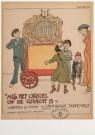 Willy Sluiter (1873-1949)  -  Als het orgel - Postkaart -  A4647-1