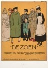 Willy Sluiter (1873-1949)  -  De zoen - Postkaart -  A4648-1