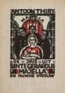 Fré Cohen (1903-1943)  -  F.Cohen/De drie uit Sinte Gera - Postkaart -  A4757-1