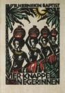 Fré Cohen (1903-1943)  -  F.Cohen/Vier knappe negerinnen - Postkaart -  A4758-1