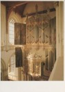 Erik Hesmerg (1951)  -  Interieur De Nieuwe Kerk, Dam, Amsterdam - Postkaart -  A4780-1