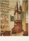 Erik Hesmerg (1951)  -  Interieur Nieuwe Kerk Amsterdam - Postkaart -  A4782-1