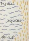 Dirk Wiarda (1943-1999)  -  Hij kust, zij kust, de kust - Postkaart -  A4785-1