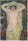 Jan Sluijters (1881-1957)  -  Halfnaakt, ca. 1912 - Postkaart -  A4931-1